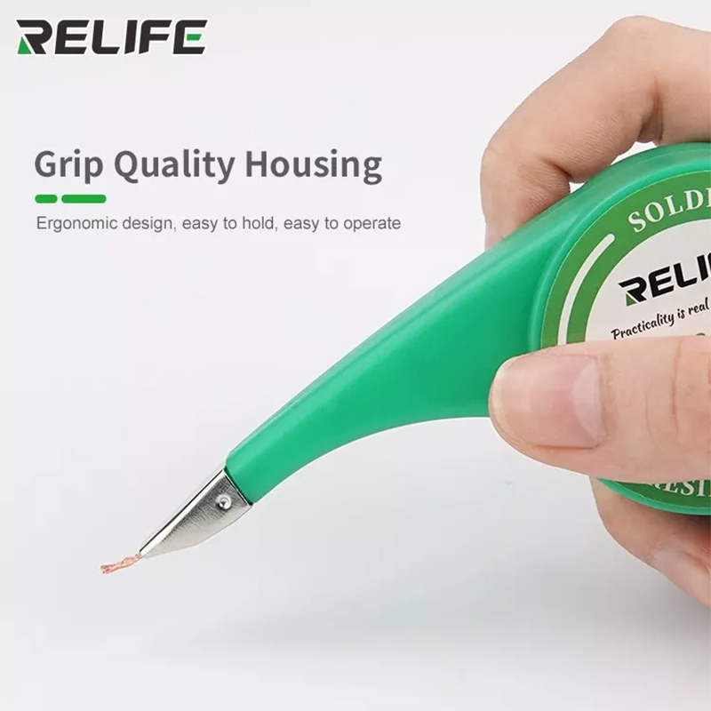 RELIFE Desoldering Mesh Anti-hot Desoldering Wick Accurate Control Braid For Soldering Solder Remover Desoldering Pump Tool