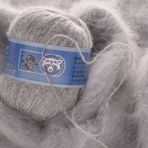 Image 5 - 5 шт./лот кашемировая мягкая норковая бархатная шерстяная пряжа для ручного вязания, длинная плюшевая шерстяная пряжа для вязания крючком, осенне зимняя Роскошная Высококачественная пряжа