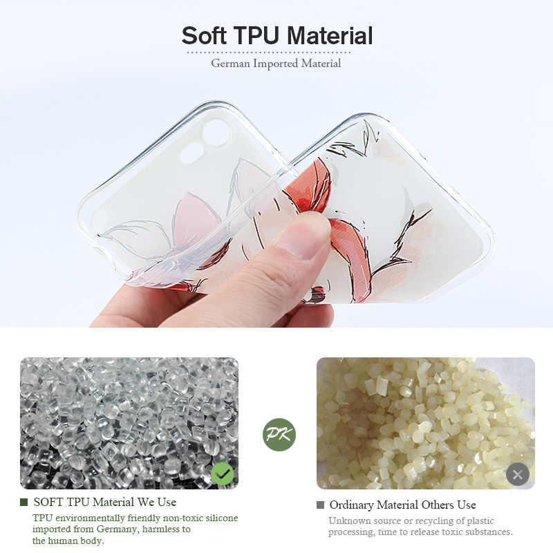 TAOYUNXI-funda suave de TPU para Ulefone S7, funda de silicona pintada DIY para Ulefone S7 S7 Pro, cubiertas protectoras flexibles de 5,0 pulgadas
