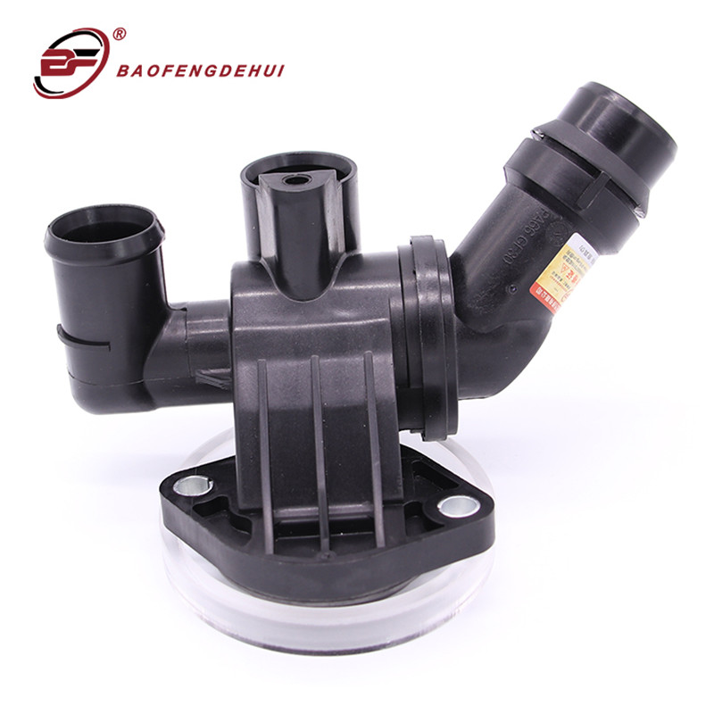 Thermostat w// Housing Coolant Flange 87c for Audi A4 Quattro 2.0L 06D12-1111G