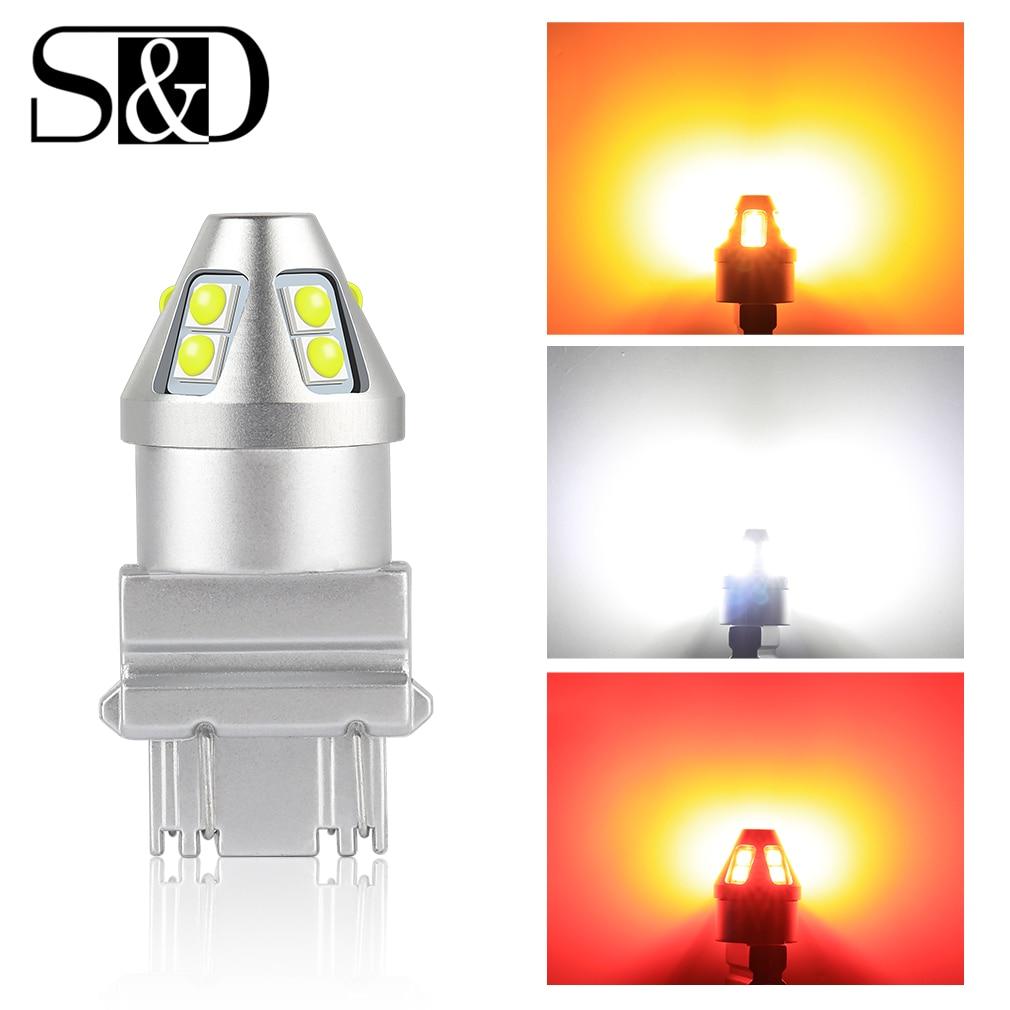 T20 светодиодный W21/5W 7443 W21W 7440 PY21W P21W светодиодный BAY15D BA15S BAU15S светодиодный светильник для автомобиля P21/5W указатель поворота 1156 3157 P27W лампа