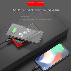 Power pack 30000 MAH portable charger solar external battery power pack PD bidirectional fast charging for iPhone Samsung Xiaomi