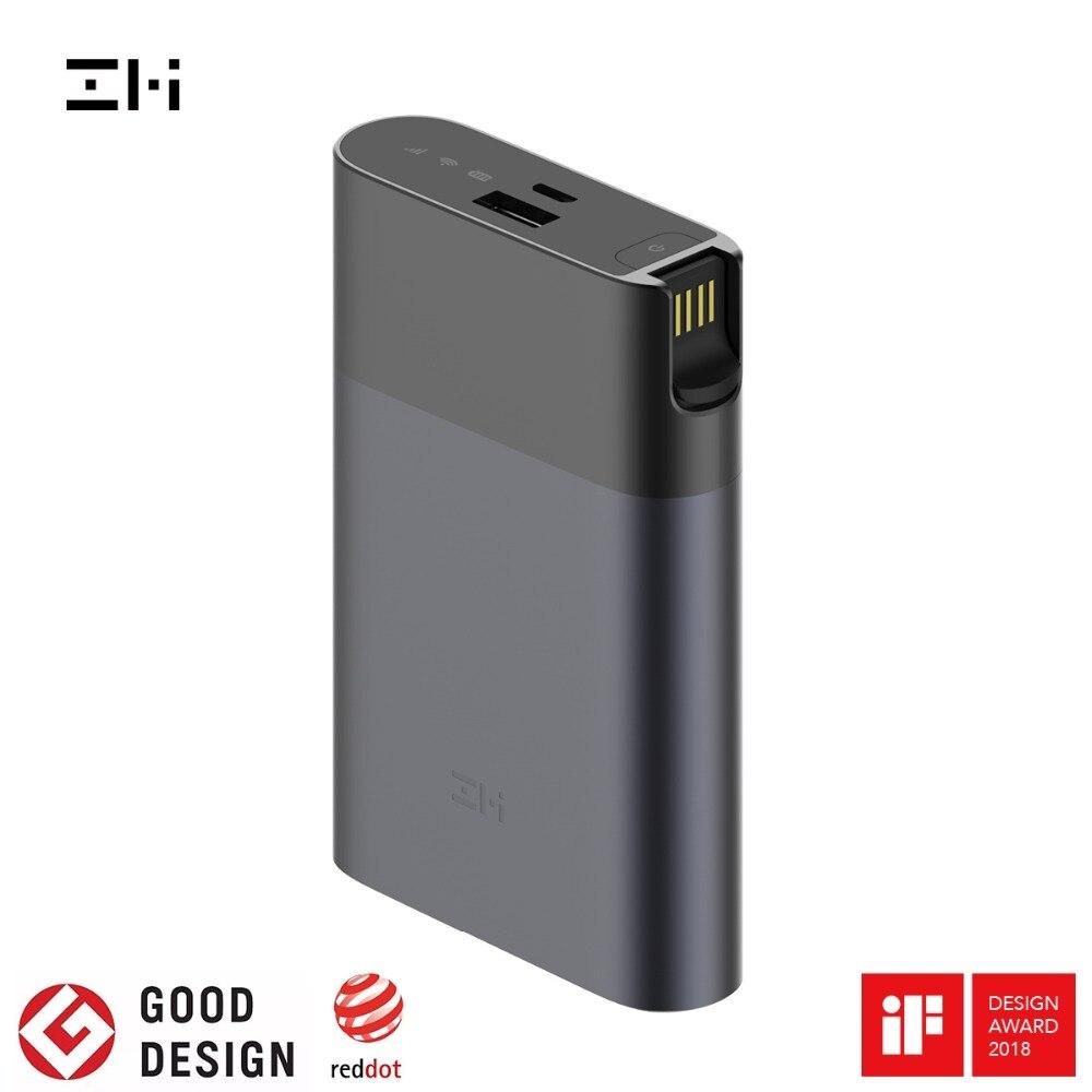 Original Xiaomi ZMI 4G WiFi Router 10000mAh Battery Power Bank 3G 4G LTE Wireless Mobile Hotspot 10000mAh QC 2.0 Quick Charge Power Bank    - AliExpress