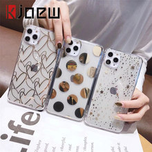 KJOEW Electroplated Star WAVE Point สำหรับ iPhone 11 PRO MAX X XS XR XS MAX 6 6S 7 8 PLUS Soft IMD ใส(China)