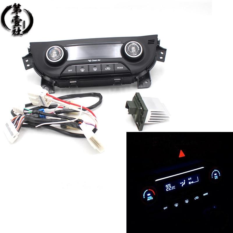 Pour Hyundai ix25 creta commande de chauffage AC chauffage interrupteur de climatisation manuel automatique panneau de climatisation bouton commutateurs