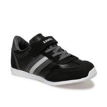FLO AVILA J 9PR Black Male Child Sneaker Shoes KINETIX