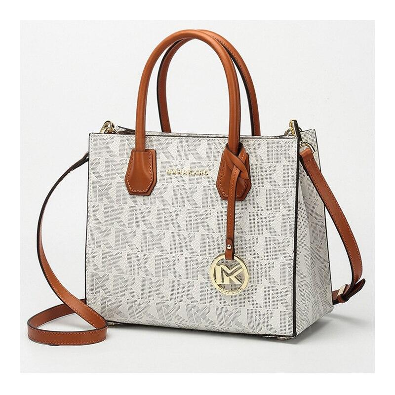 Fashion OL Style Brand Pendant Designer Top-handle Women Shoulder Bags Ladies Handbag Classic Genuine Leather Bag Logo Pattern