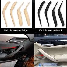 Interior Door Inner Panel Handle Pull Trim Cover Car Accessories For BMW X1 E84 X1 23d/25i/16d/16i/18d/20i 2008 2016