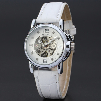 2020 luxury fashion Women's Watch Automatic Mechanical Watch Ladies Clock Skeletons Wristwatch Hollow Out Automatic-self-winding