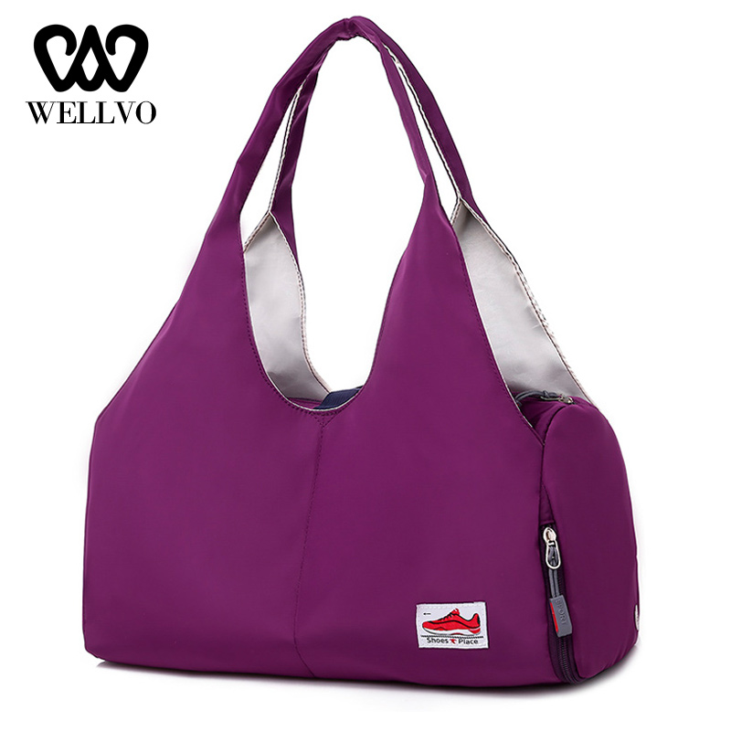 Fashion Women Travel Bags Yoga Weekend Hand Fitness Handbag Gym Duffle Bag Large Capacity Suitcase Travelling Bag Man XA753WB