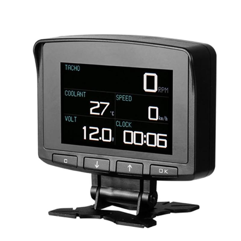 الذكية شاشة ديجيتال متر السرعة الزائدة إنذار محرك مقياس الحرارة سرعة تحذير PUO88-في جهاز استشعار وأداة كشف من الأمن والحماية على