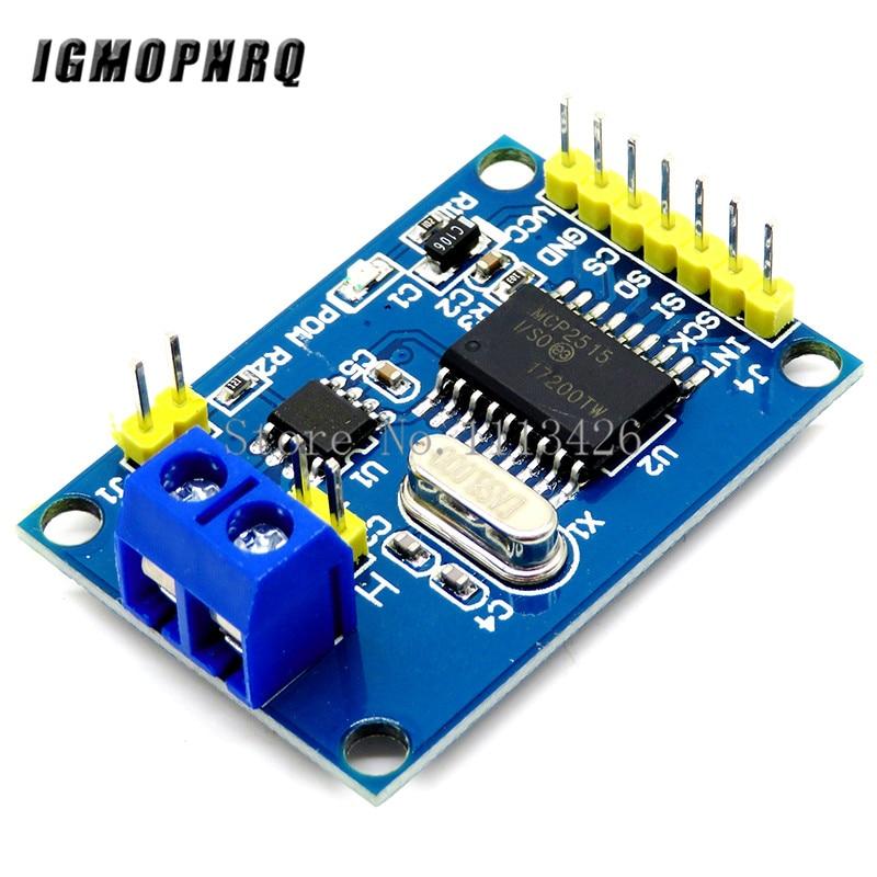 MCP2515 CAN Bus Module TJA1050 Receiver SPI For Arduino Diy Kit MCU ARM Controller
