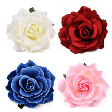 30pcs Large Artificial Rose Silk Flower Heads For Wedding Decoration DIY Wreath Gift Box Scrapbooking Craft Fake Flowers