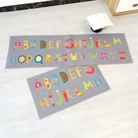 2019 Fashion printed modern cartoon door pad cartoon strip mat anti skid oil proof household floor kitchen carpet door mat rug