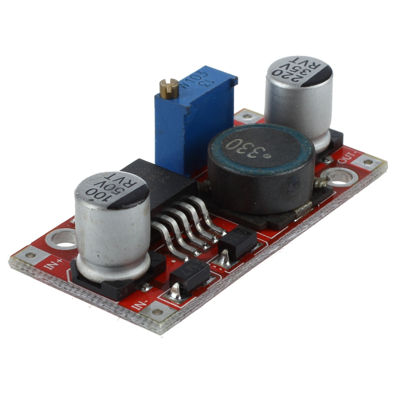 ABKT-New 10Pcs DC-DC LM2596 Converter Buck Adjustable Step Down Power Module 1.5-35V