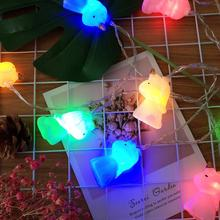 LED Garland Tree Lamp Chanukah String Lights Outdoor Lighting Fairy Unicorn Light Chain Twinkly Diwali Decorations Holiday Salon