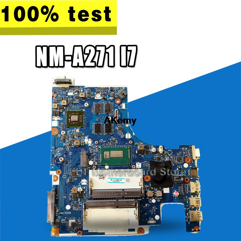 G50-70 For Lenovo G50-70 Z50-70 I7 Motherboard ACLU1/ACLU2 NM-A271 Rev1.0 With Graphics Card Test