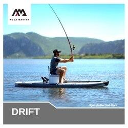 Aqua Marina DRIFT stand up paddle board sup surfen aufblasbare fischer bord 330x97x15cm