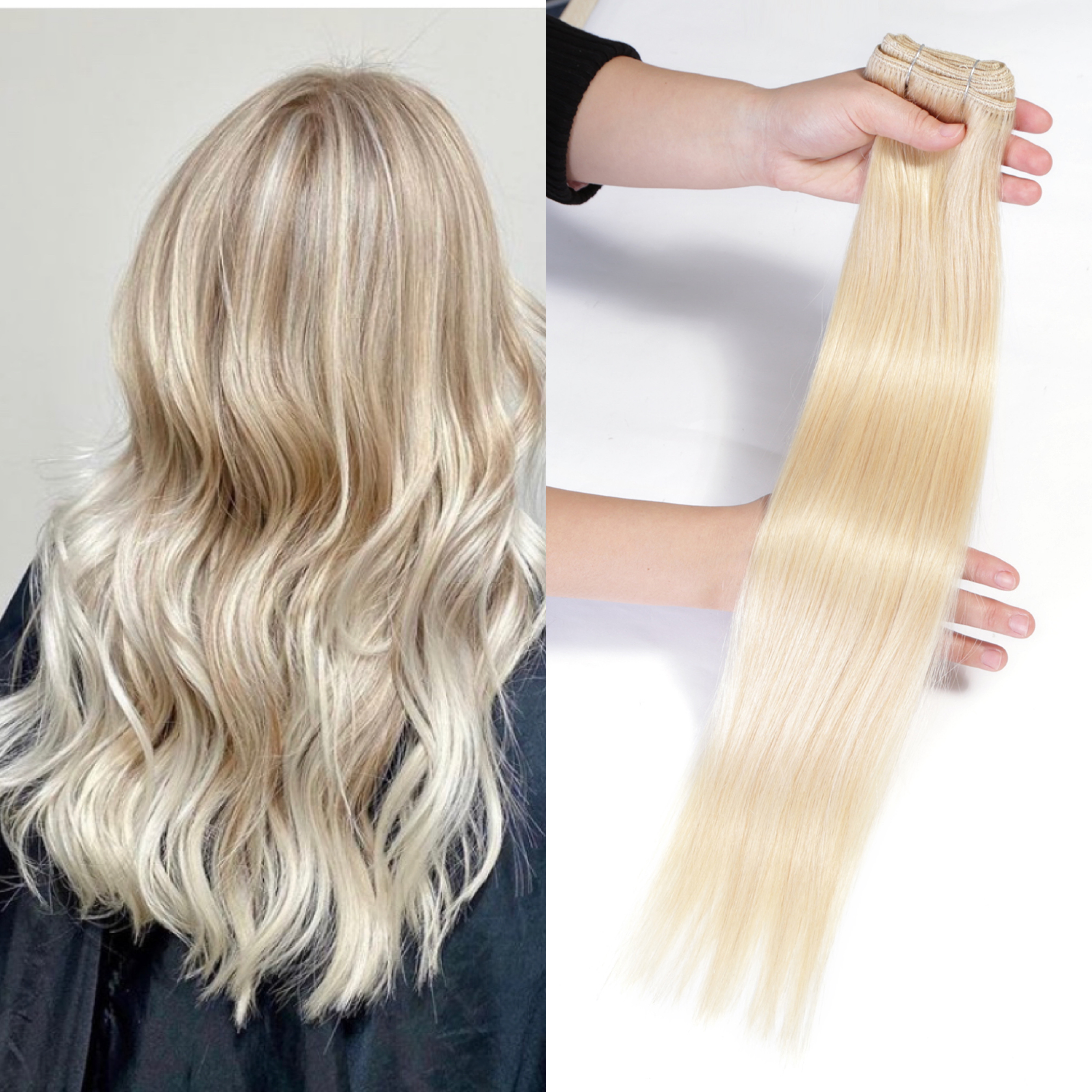 Neitsi прямые волосы Remy для наращивания, 20