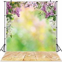 NeoBack 3x5ft Forest Fairy Tale Nature Photographic Backgrounds New Born Baby Props Children Photo Backdrops 90x150cm P0027