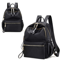 Hot High Quality Waterproof Oxford  Womens Backpacks Fashion Korean Black Backpack Big Bag Plecak Damski