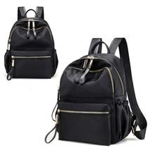Hot High Quality Waterproof Oxford  Womens Backpacks Fashion Korean Black Backpack Big Bag Plecak Damski
