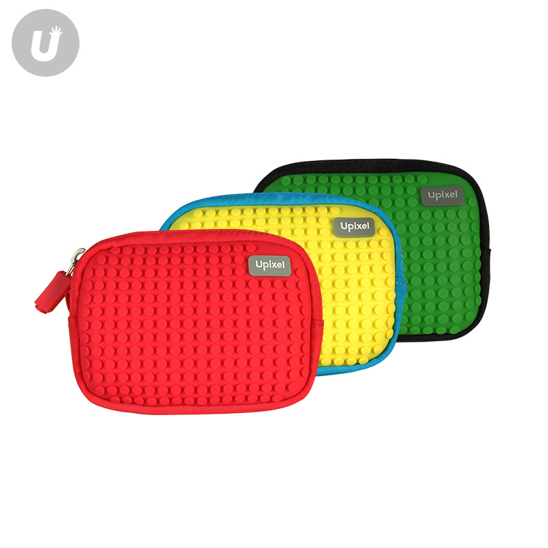 Creative Jigsaw Puzzle Bag 2018 Children Wallet Korean-style Upixel New Style Zero Unisex Mini DIY Zipper Small Unisex