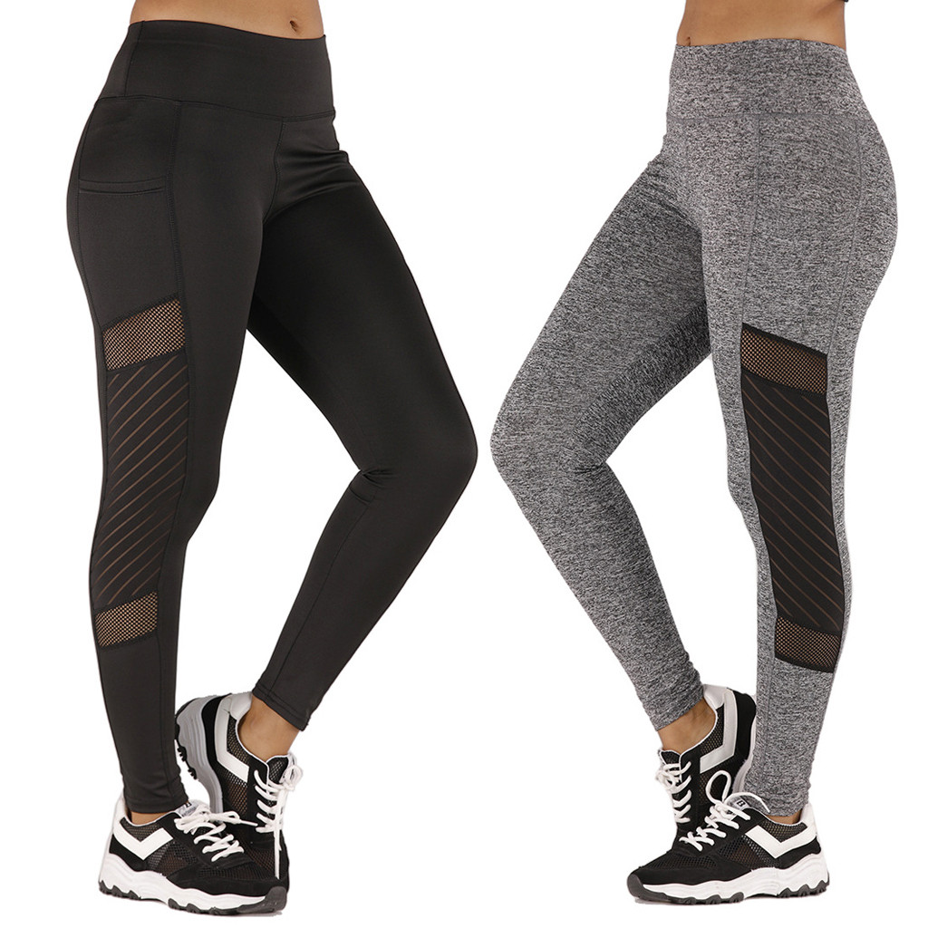 running Gym pants leggings size Medium Workout Fitness sports US Women yoga