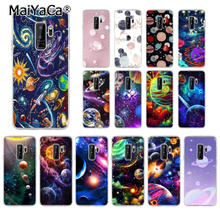 MaiYaCa Cosmic space planet TPU Soft Silicone Phone Case Cover for Samsung S5 S6 S6 edge Plus S7 S8 S8plus S9 S9plus все цены