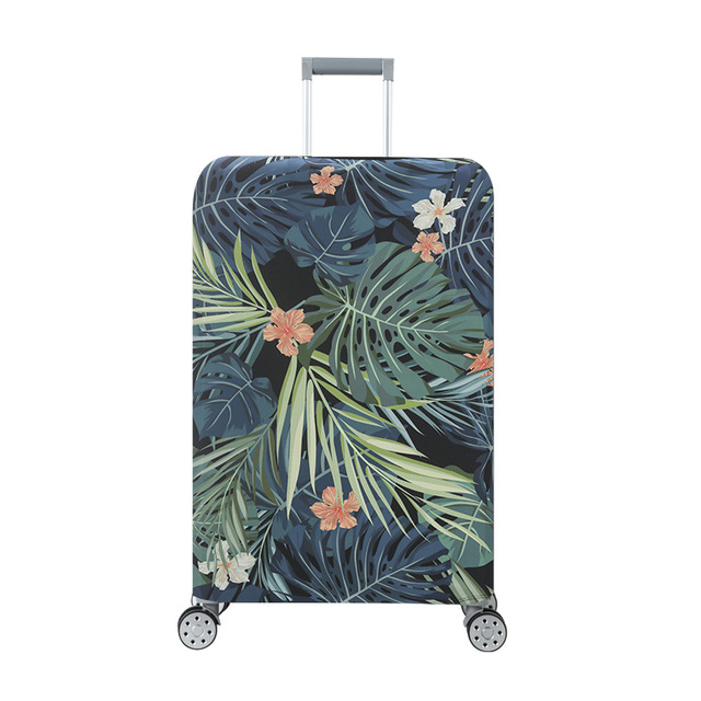 18-32 Inch Travel Elastic Luggage Cover Dust-proof Suitcase Cover Thicker Waterproof  Luggage Protective Cover Travel Accessorie