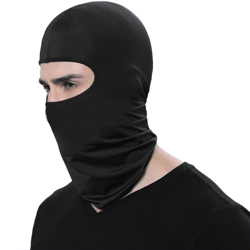 Full Face Balaclava Motorcycle Mask Windproof Tactical Face Shield Neck Mascara Ski Mask Cagoule Visage Gangster Gorras Moto Gp