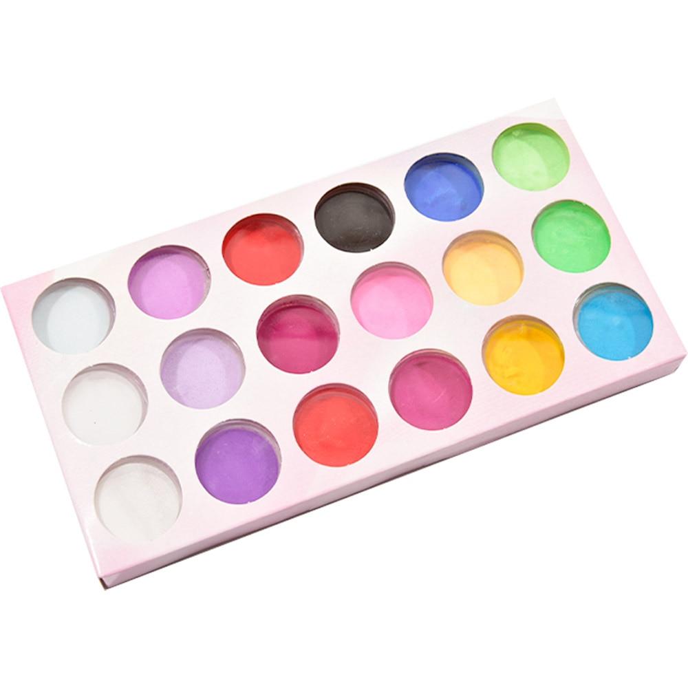 18 garrafas/conjunto prego acrílico pó brilho mergulhando 18 cores pigmento do prego para unhas arte poeira kit manicure acrílico pó t # rt45