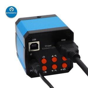 14MP микроскоп камера hdmi HD 1400W 60FPS Тринокулярный промышленный электронный цифровой видео микроскоп c-mount камера для ремонта телефона