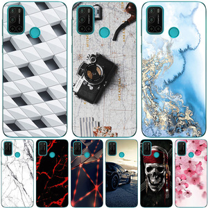 Image 1 - Phone Bags & Case For Vsmart Joy 4 2020 6.53 Inch Cover Soft Silicone Fashion Marble Inkjet Painted Shell Capa