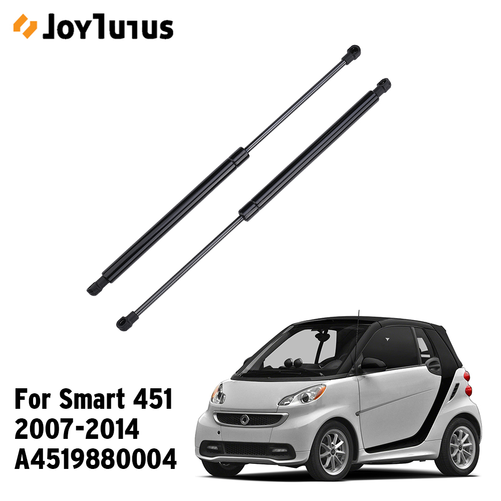 A4519880004 2pcs Trunk Lid Shock Strut Damper Lift Support For Smart 451 Coupe Fortwo 2007-2014  Hydraulic Rod