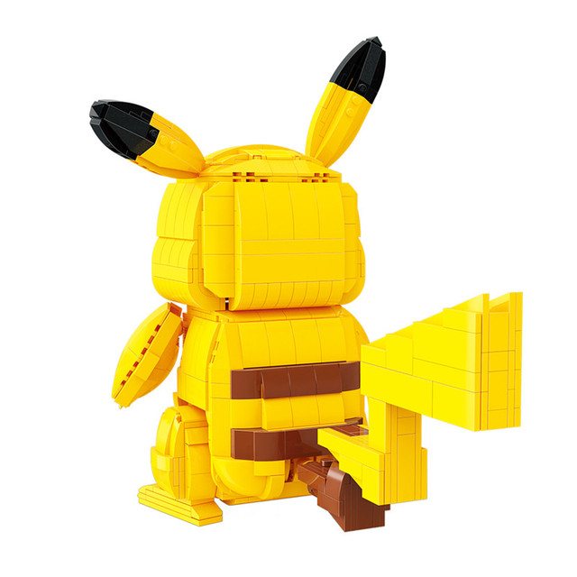 Creator Cartoon Anime Pokemon Pikachu Model Building Blocks Bricks Sets Classic Movie Dolls Model Kids Toys For Children Gift 2
