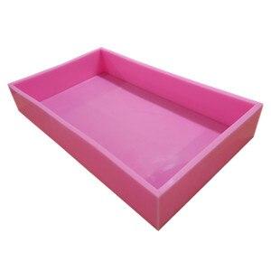 Размер 55*32,5*8,8 см Большой размер силиконовые формы для мыла силиконовая форма для изготовления натурального мыла CP
