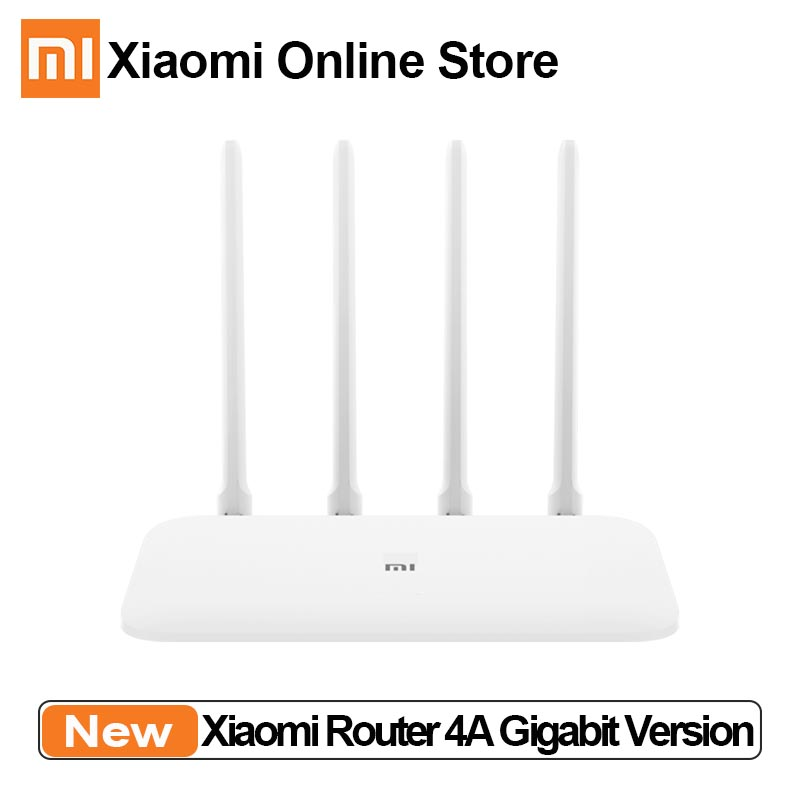 Original Xiaomi Mi Router 4A Gigabit Edition 100M 1000M 2.4GHz 5GHz WiFi ROM 16MB DDR3 64MB 128MB Mijia App Controlrol Router(China)