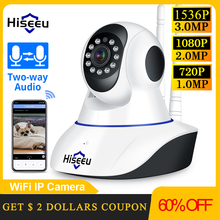 Hiseeu 1080P 1536P Ip Camera Wireless Home Security Camera Surveillance Camera Wifi Nachtzicht Cctv Camera 2mp Baby monitor