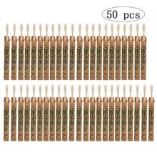 50 Pack Natuurlijke Bamboe Tandenborstel Hout Tandenborstels Zachte Haren Capitellum Fiber Tanden Borstel Milieuvriendelijke Oral Care Groothandel