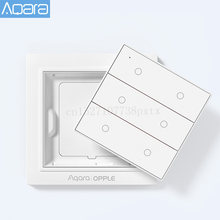 Original aqara opple sem fio interruptor de luz inteligente app controle interruptor parede sem fio para mihome app apple homekit