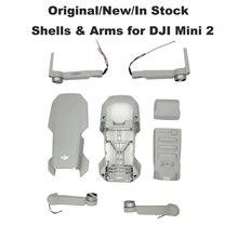 מקורי גוף פגז מנוע זרוע עבור DJI מיני 2 עליון כיסוי אמצע מסגרת מעטפת תחתונה קדמי/אחורי שמאל/ימין זרועות חילוף חלק בstoc