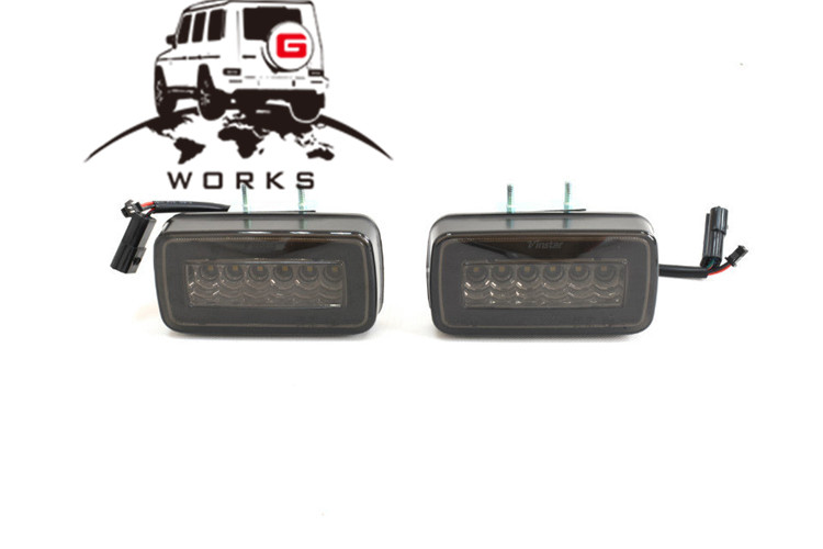 rear bumper LED W463 (11)