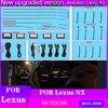 LED Ambient Light Suitable for Lexus NX 2018-2021 64-color car interior atmosphere light trim light atmosphere light modificatio 1