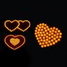 Criativo e mais seguro festa atmosfera luzes lightlight atmosfera é bom e romântico led fliker flameless luzes de vela