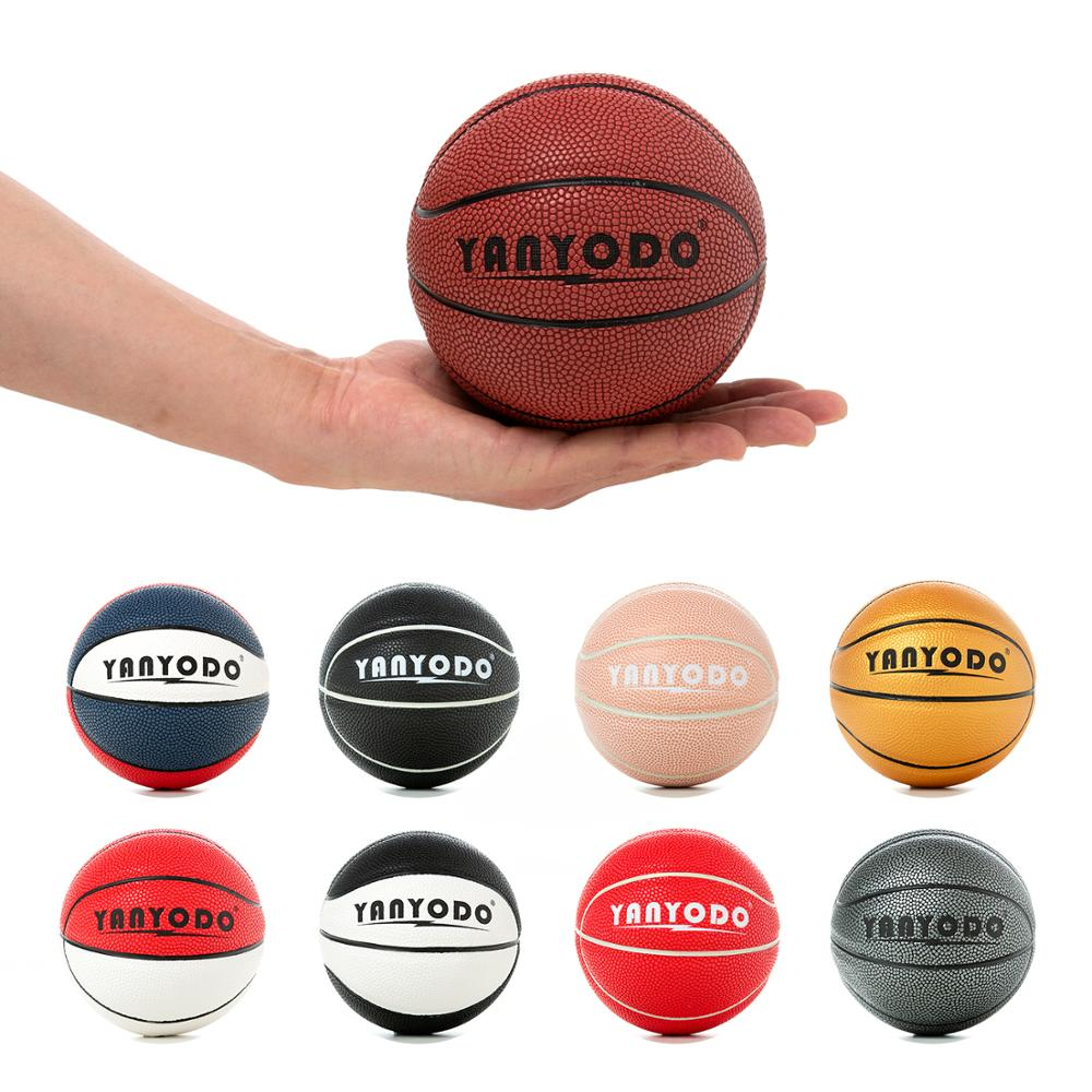 "Game Basketball Mini Size 5.5"" Training Baby Basketball Soft Sports Toy Ball For IndoorKids Multiple Colour Basketball"