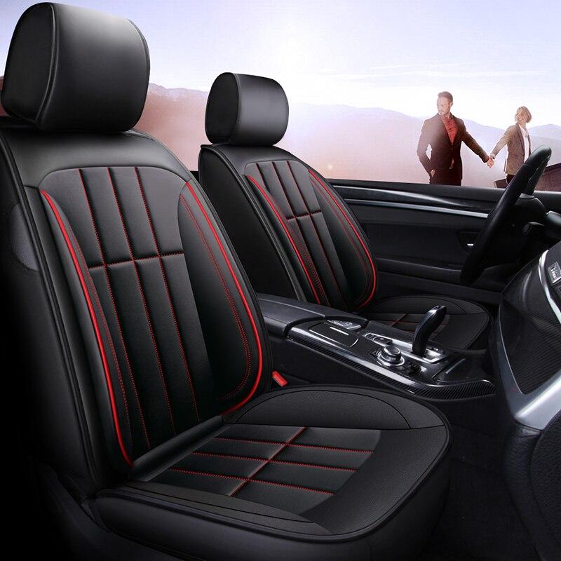 Couverture complète eco-cuir auto sièges couvre siège auto en cuir synthétique polyuréthane housses pour geely atlas boyue emgrand x7 geeli emgrand ec7