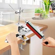 Küche Messer spitzer Professionelle eisen stahl festen winkel mit steinen mit 4 stücke Whetstones Werkzeug Set messer spitzer