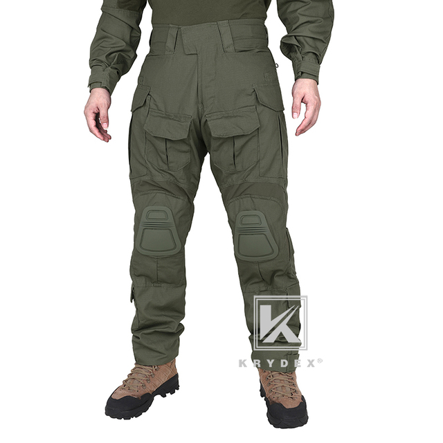 KRYDEX G3 Combat BDU Uniform Shirt /& Trousers w// Elbow /& Knee Pads Camo Multicam