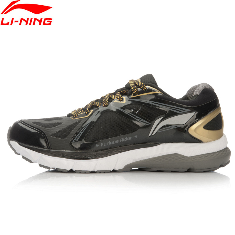 Li-Ning Men FURIOUS RIDER Running Shoes NO CHIP TUFF OS Stability Sneakers PROBAR LOC LiNing Li Ning Sport Shoes ARHL043 XYP424